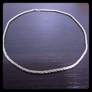 Jewelry - ❤️ Day 🎁! Italian 925 Sterling Silver chain.
